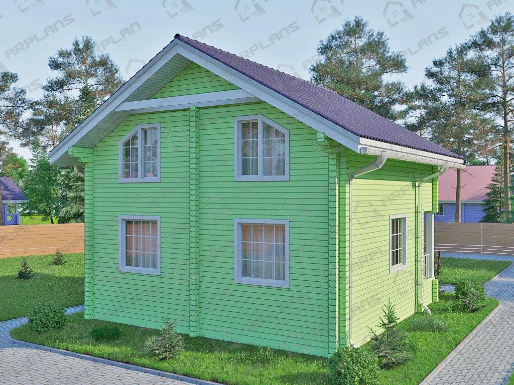 Проект дома ДС-038 (110.29 кв.м)