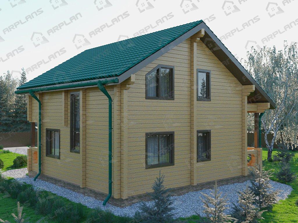 Проект дома ДС-037 (136.33 кв.м)