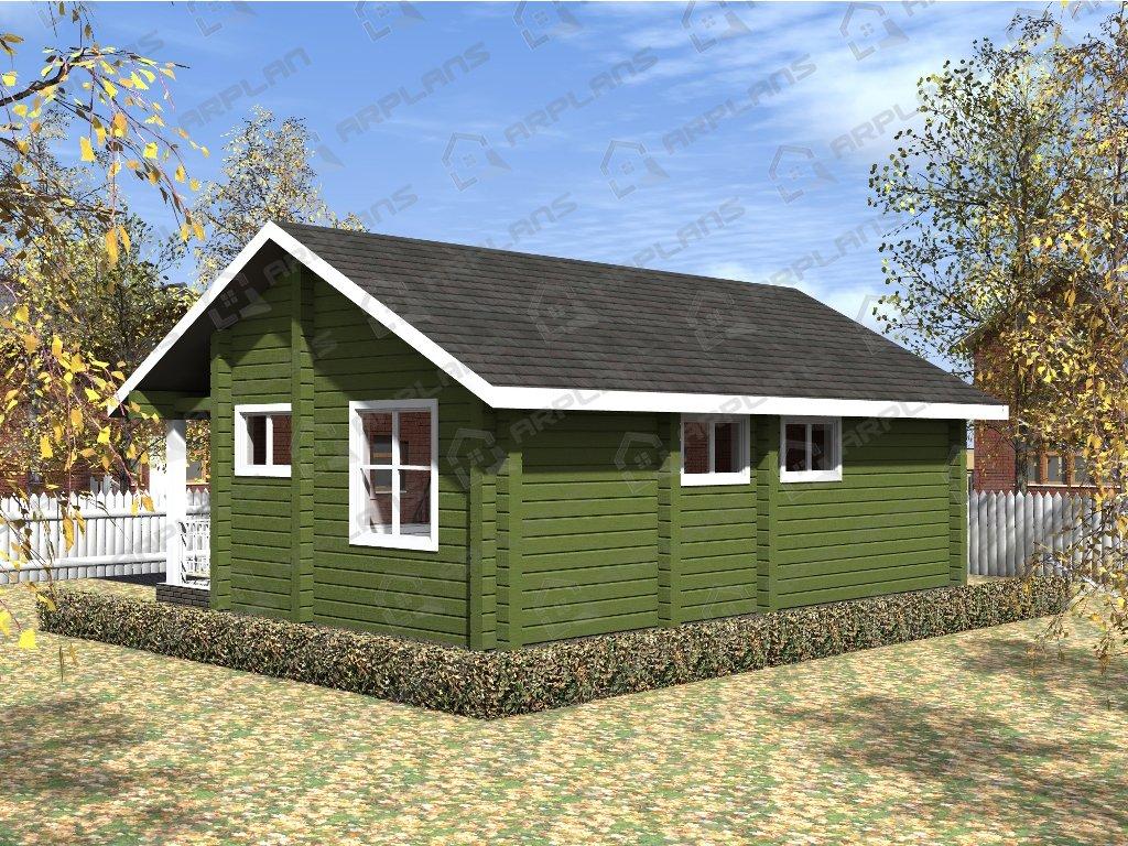 Проект дома ДС-036 (60.31 кв.м)