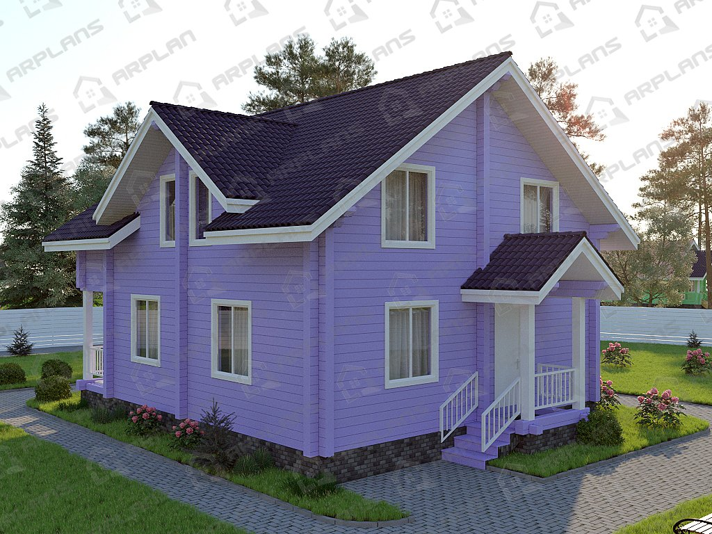 Проект дома ДС-035 (169.71 кв.м)