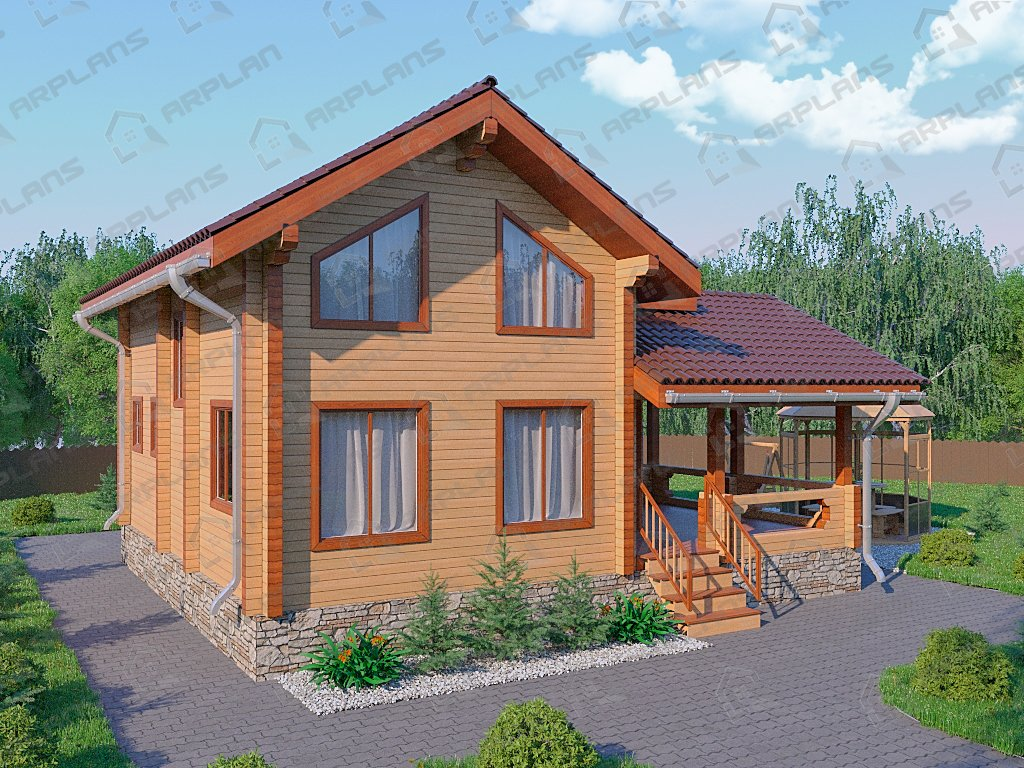 Проект дома ДС-033 (131.38 кв.м)