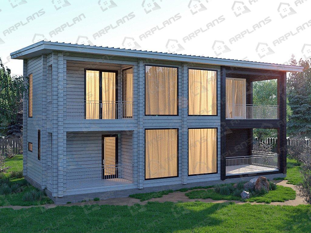 Проект дома ДС-031 (213.82 кв.м)