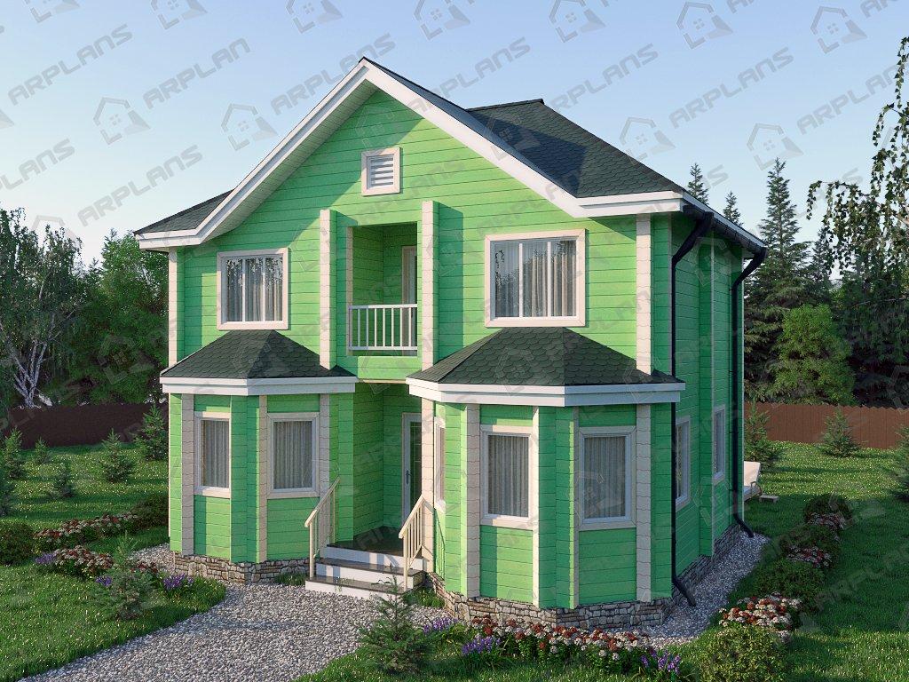 Проект дома ДС-021 (99.93 кв.м)