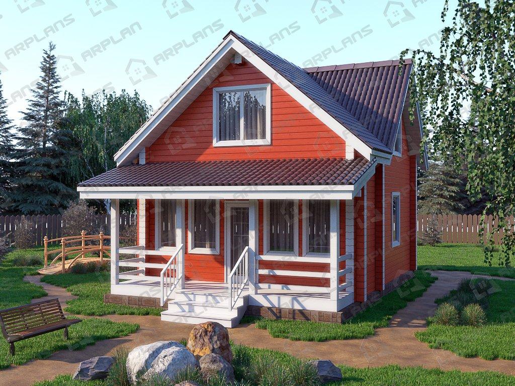 Проект дома ДС-019 (82.11 кв.м)