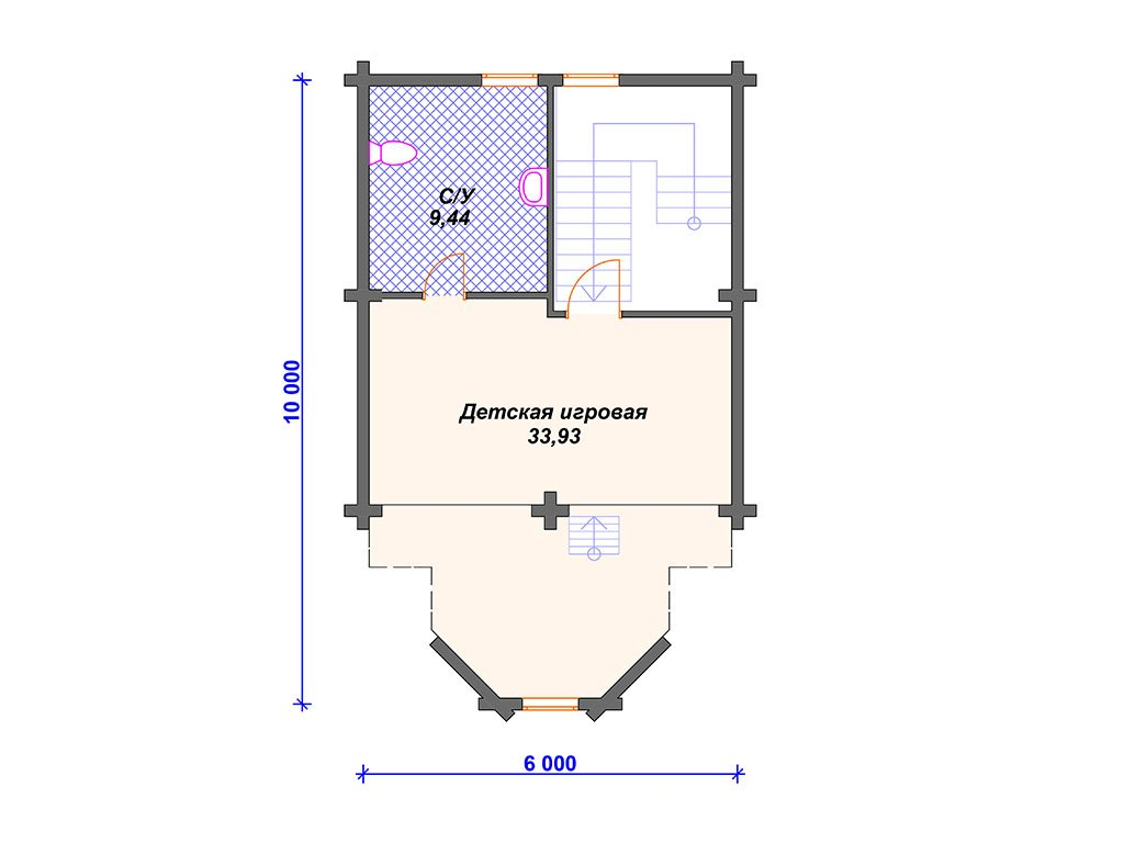 Проект дома ДС-030 (288.76 кв.м)