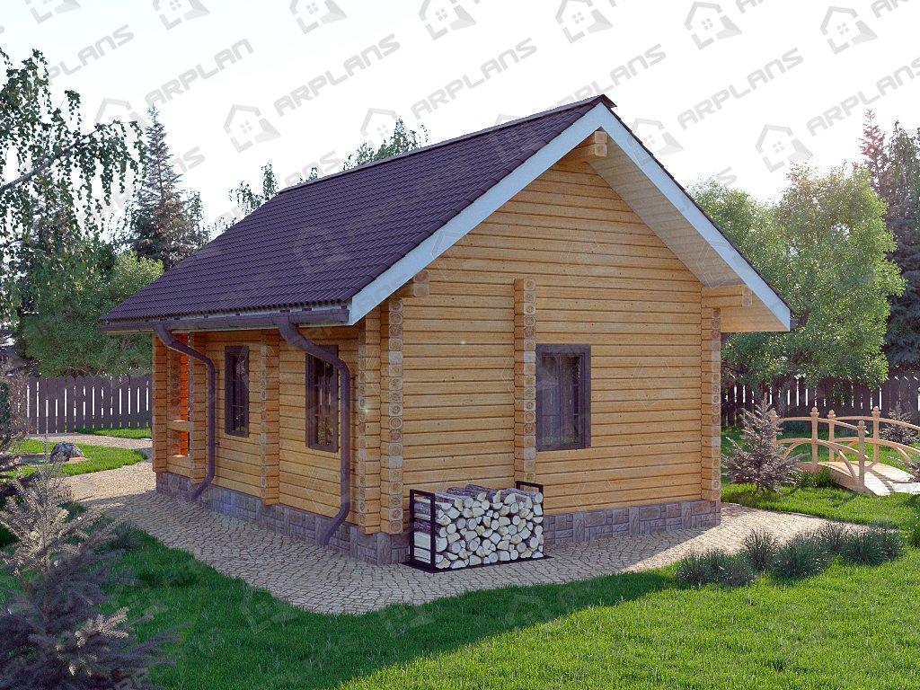 Проект дома ДС-029 (39.40 кв.м)