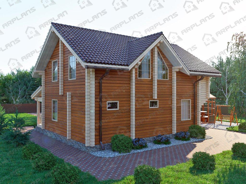 Проект дома ДС-020 (182.36 кв.м)