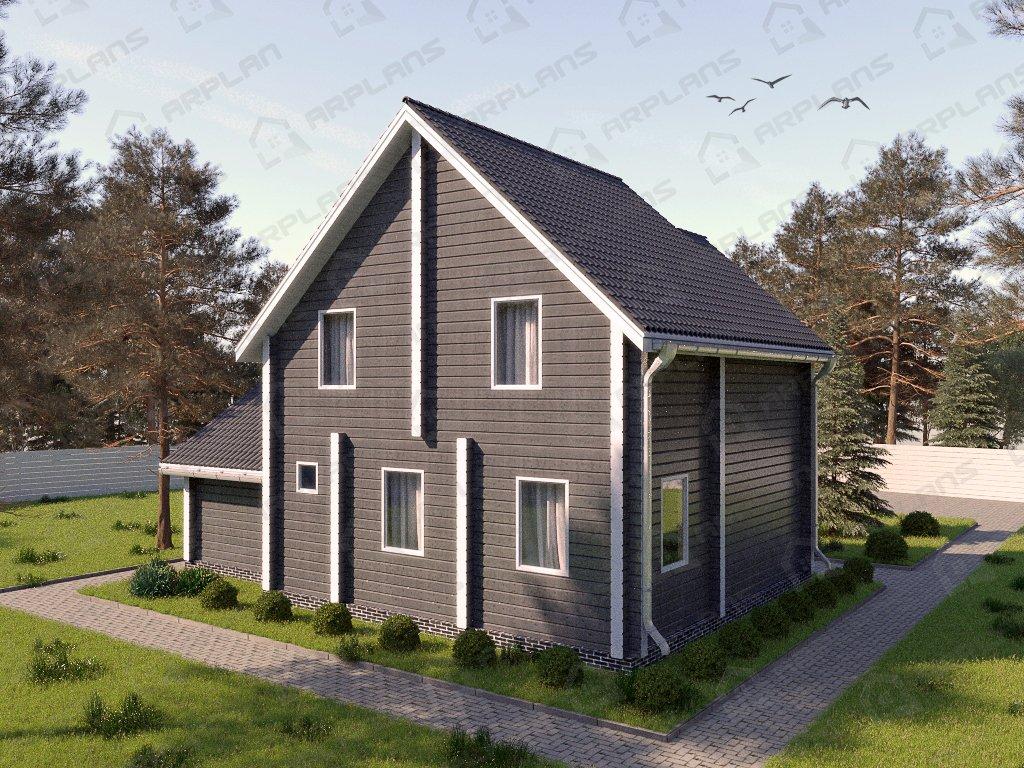 Проект дома ДС-013 (125.77 кв.м)