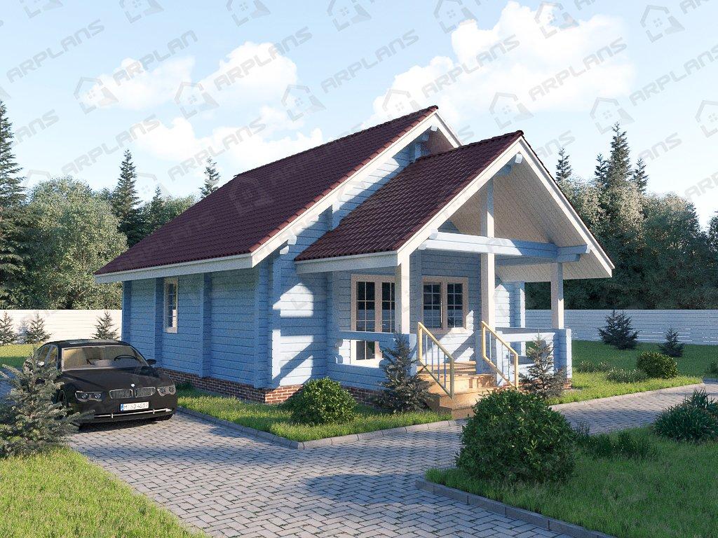 Проект дома ДС-027 (86.96 кв.м)