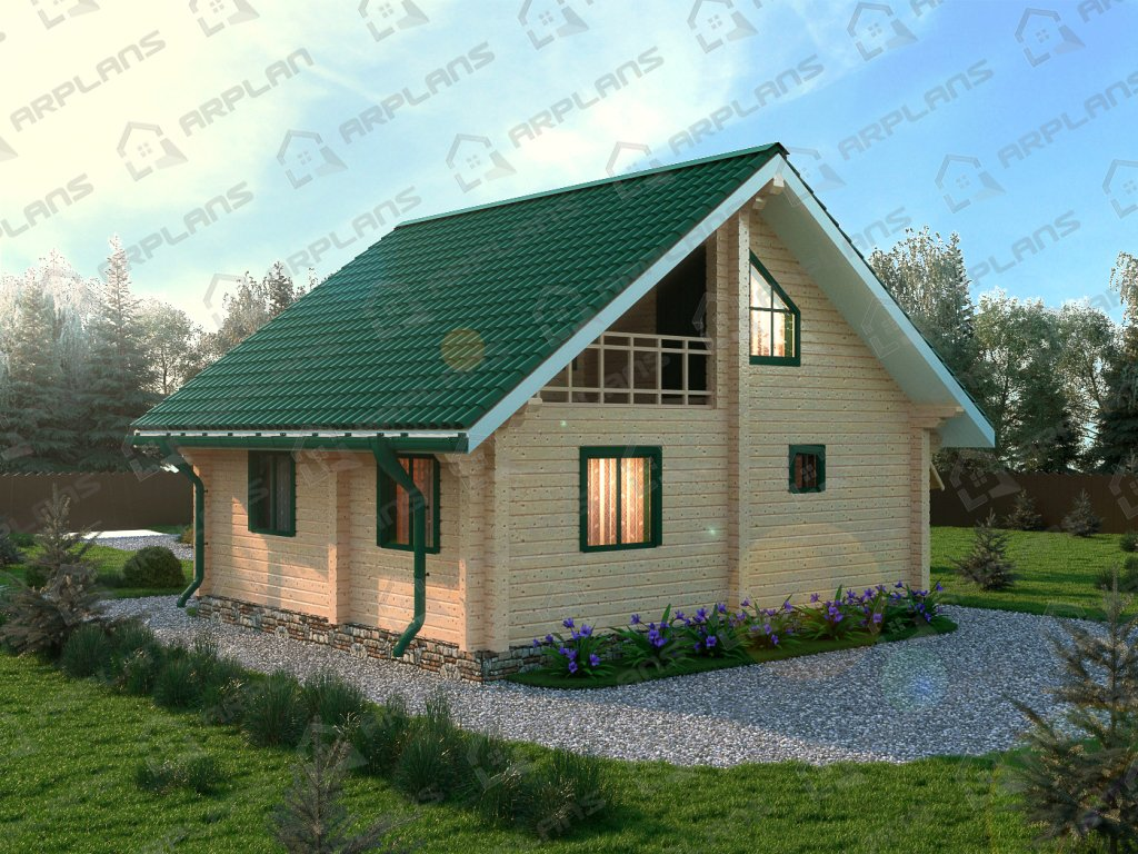Проект дома ДС-025 (86.40 кв.м)