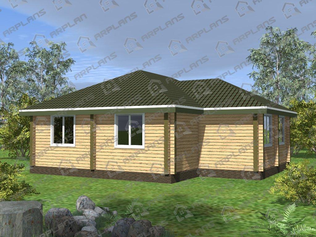 Проект дома ДС-024 (101.06 кв.м)