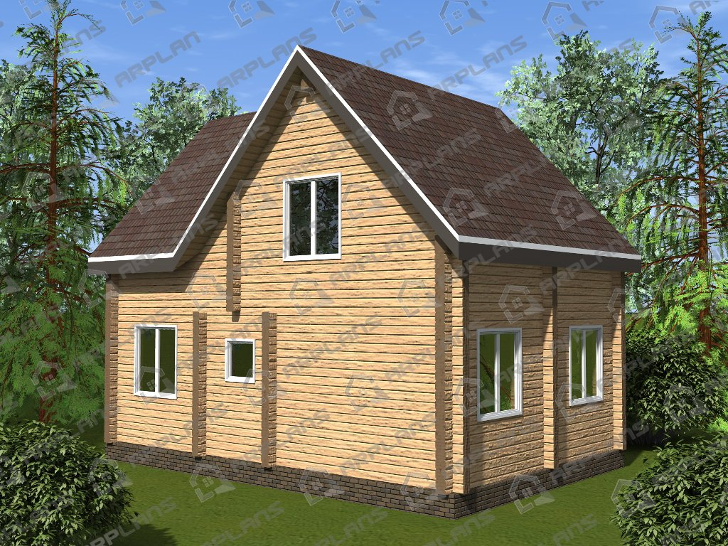 Проект дома ДС-022 (97.94 кв.м)