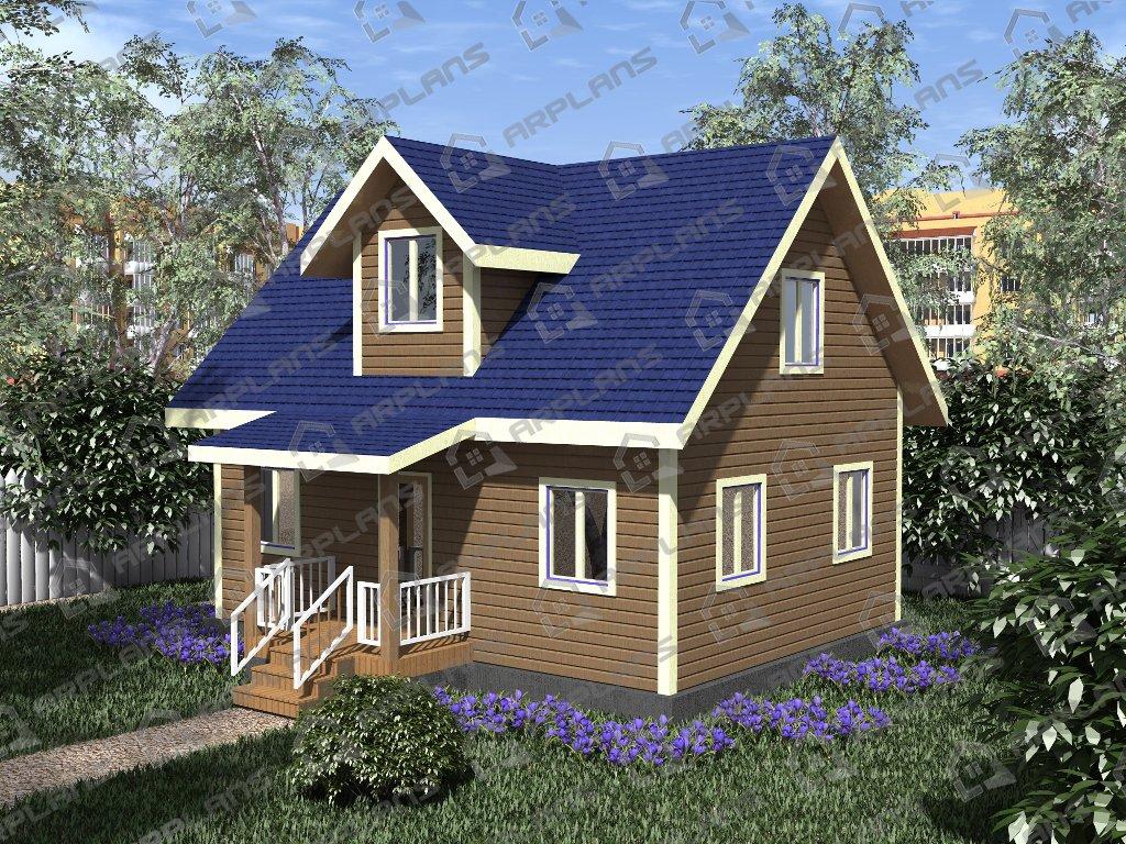Проект дома ДС-009 (79.33 кв.м)