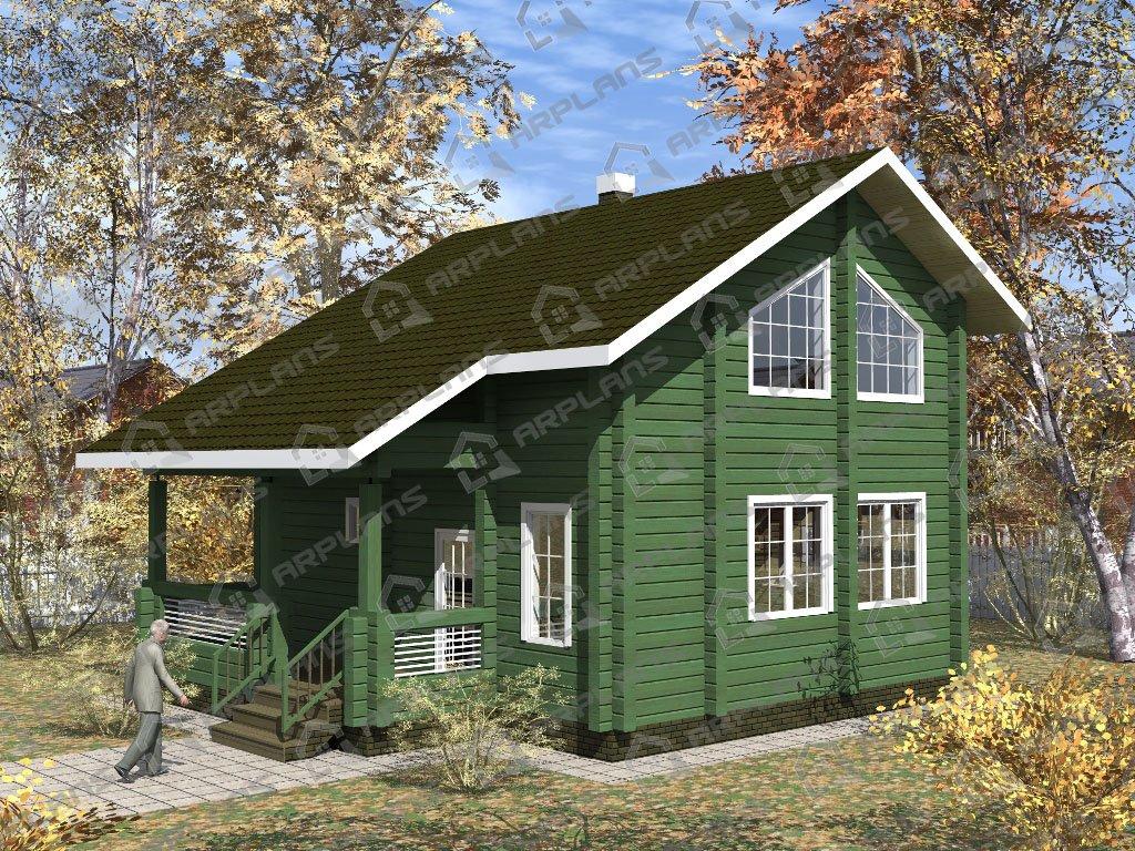 Проект дома ДС-001 (110.29 кв.м)