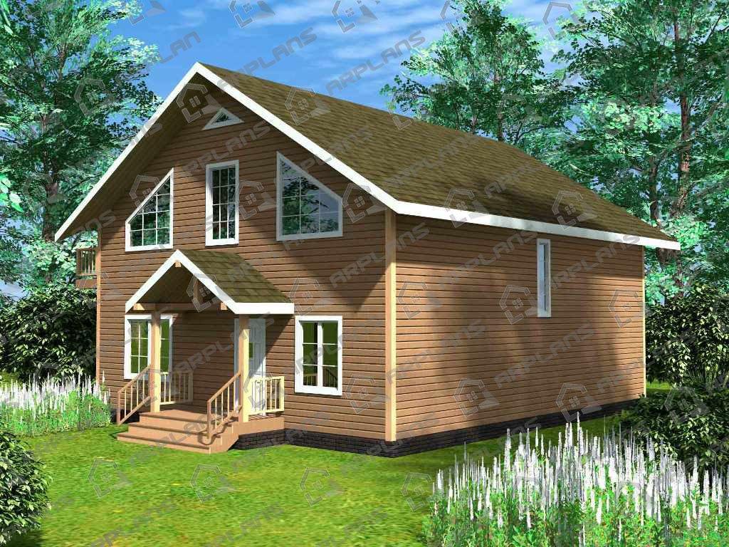 Проект дома ДС-007 (236.08 кв.м)