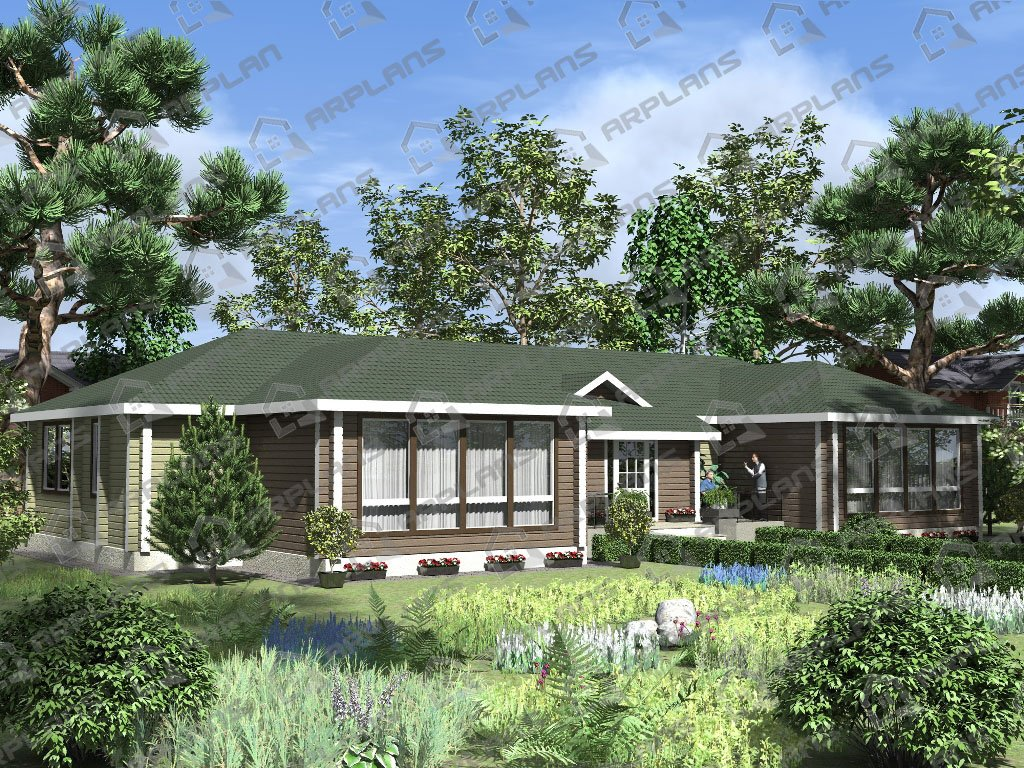 Проект дома ДС-006 (238.37 кв.м)