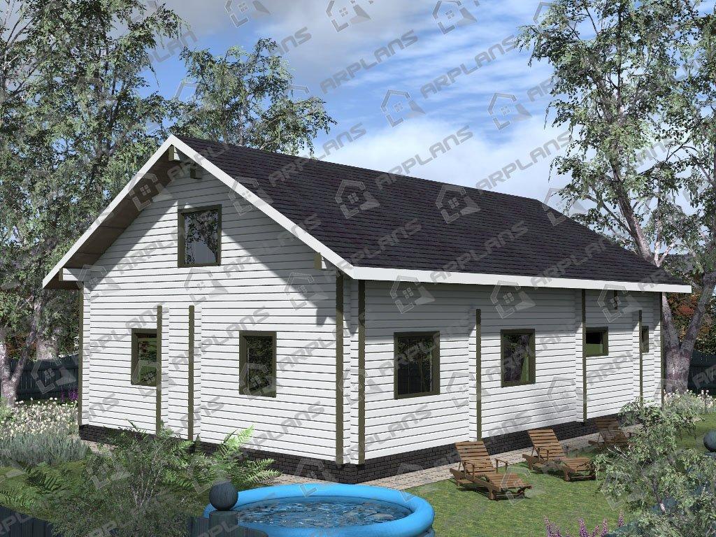 Проект дома ДС-005 (229.20 кв.м)